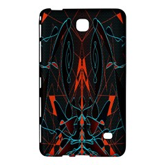 Doodle Art Pattern Background Samsung Galaxy Tab 4 (7 ) Hardshell Case  by BangZart
