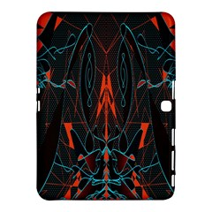 Doodle Art Pattern Background Samsung Galaxy Tab 4 (10 1 ) Hardshell Case  by BangZart