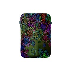 Grunge Rose Background Pattern Apple Ipad Mini Protective Soft Cases by BangZart