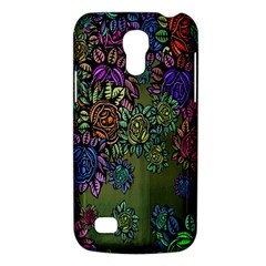 Grunge Rose Background Pattern Galaxy S4 Mini