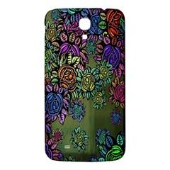 Grunge Rose Background Pattern Samsung Galaxy Mega I9200 Hardshell Back Case by BangZart