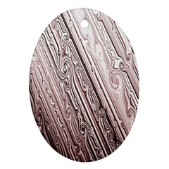 Vintage Pattern Background Wallpaper Ornament (oval) by BangZart