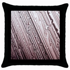 Vintage Pattern Background Wallpaper Throw Pillow Case (black) by BangZart