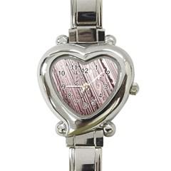 Vintage Pattern Background Wallpaper Heart Italian Charm Watch