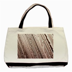 Vintage Pattern Background Wallpaper Basic Tote Bag (two Sides) by BangZart