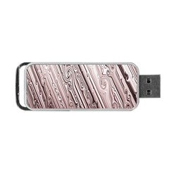 Vintage Pattern Background Wallpaper Portable Usb Flash (two Sides) by BangZart