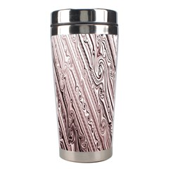 Vintage Pattern Background Wallpaper Stainless Steel Travel Tumblers