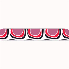 Wheel Stones Pink Pattern Abstract Background Small Bar Mats