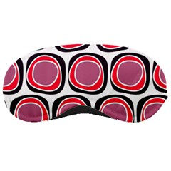 Wheel Stones Pink Pattern Abstract Background Sleeping Masks