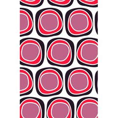 Wheel Stones Pink Pattern Abstract Background 5 5  X 8 5  Notebooks by BangZart