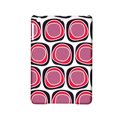 Wheel Stones Pink Pattern Abstract Background Ipad Mini 2 Hardshell Cases