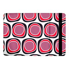 Wheel Stones Pink Pattern Abstract Background Samsung Galaxy Tab Pro 10 1  Flip Case