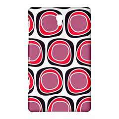 Wheel Stones Pink Pattern Abstract Background Samsung Galaxy Tab S (8 4 ) Hardshell Case