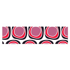 Wheel Stones Pink Pattern Abstract Background Satin Scarf (oblong)