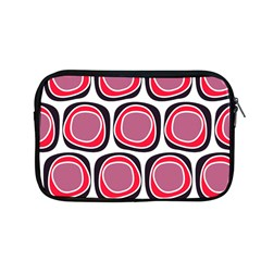 Wheel Stones Pink Pattern Abstract Background Apple Macbook Pro 13  Zipper Case by BangZart