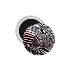 Abstract Fauna Pattern When Zebra And Giraffe Melt Together 1 75  Magnets