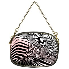 Abstract Fauna Pattern When Zebra And Giraffe Melt Together Chain Purses (one Side)  by BangZart