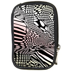 Abstract Fauna Pattern When Zebra And Giraffe Melt Together Compact Camera Cases by BangZart