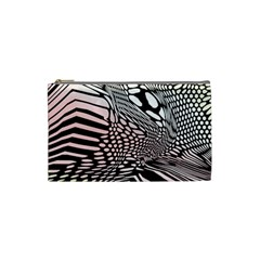 Abstract Fauna Pattern When Zebra And Giraffe Melt Together Cosmetic Bag (small)  by BangZart