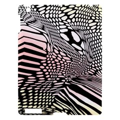 Abstract Fauna Pattern When Zebra And Giraffe Melt Together Apple Ipad 3/4 Hardshell Case by BangZart