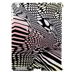 Abstract Fauna Pattern When Zebra And Giraffe Melt Together Apple Ipad 3/4 Hardshell Case (compatible With Smart Cover) by BangZart