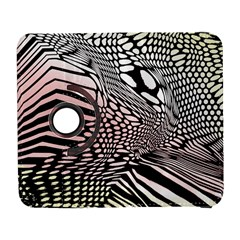 Abstract Fauna Pattern When Zebra And Giraffe Melt Together Galaxy S3 (flip/folio)