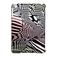 Abstract Fauna Pattern When Zebra And Giraffe Melt Together Apple Ipad Mini Hardshell Case (compatible With Smart Cover) by BangZart