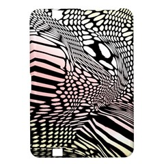 Abstract Fauna Pattern When Zebra And Giraffe Melt Together Kindle Fire Hd 8 9  by BangZart