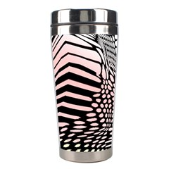 Abstract Fauna Pattern When Zebra And Giraffe Melt Together Stainless Steel Travel Tumblers