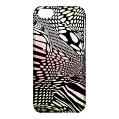 Abstract Fauna Pattern When Zebra And Giraffe Melt Together Apple Iphone 5c Hardshell Case by BangZart