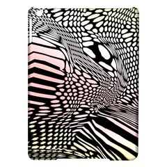 Abstract Fauna Pattern When Zebra And Giraffe Melt Together Ipad Air Hardshell Cases by BangZart