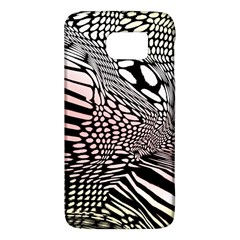 Abstract Fauna Pattern When Zebra And Giraffe Melt Together Galaxy S6 by BangZart