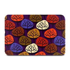Colorful Trees Background Pattern Plate Mats by BangZart