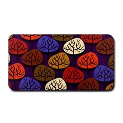 Colorful Trees Background Pattern Medium Bar Mats by BangZart