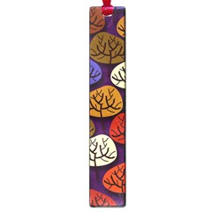 Colorful Trees Background Pattern Large Book Marks by BangZart