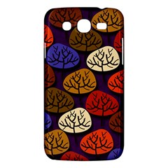 Colorful Trees Background Pattern Samsung Galaxy Mega 5 8 I9152 Hardshell Case  by BangZart