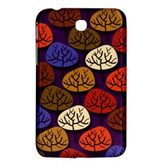 Colorful Trees Background Pattern Samsung Galaxy Tab 3 (7 ) P3200 Hardshell Case  by BangZart