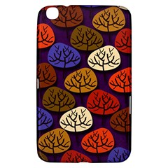 Colorful Trees Background Pattern Samsung Galaxy Tab 3 (8 ) T3100 Hardshell Case  by BangZart