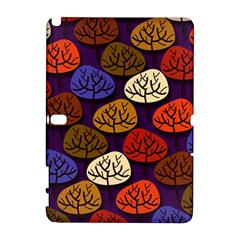 Colorful Trees Background Pattern Galaxy Note 1 by BangZart