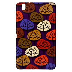 Colorful Trees Background Pattern Samsung Galaxy Tab Pro 8 4 Hardshell Case