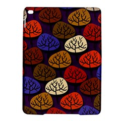 Colorful Trees Background Pattern Ipad Air 2 Hardshell Cases by BangZart