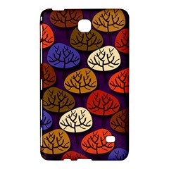 Colorful Trees Background Pattern Samsung Galaxy Tab 4 (8 ) Hardshell Case  by BangZart
