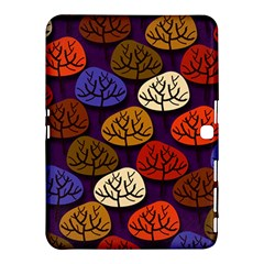 Colorful Trees Background Pattern Samsung Galaxy Tab 4 (10 1 ) Hardshell Case