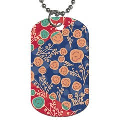 Floral Seamless Pattern Vector Texture Dog Tag (one Side) by BangZart