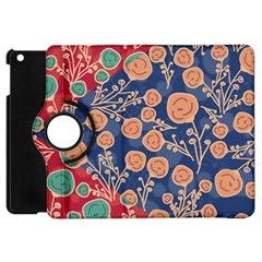 Floral Seamless Pattern Vector Texture Apple Ipad Mini Flip 360 Case