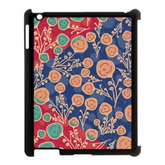 Floral Seamless Pattern Vector Texture Apple Ipad 3/4 Case (black) by BangZart