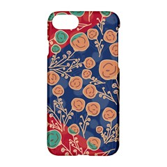 Floral Seamless Pattern Vector Texture Apple Iphone 7 Hardshell Case