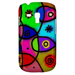 Digitally Painted Colourful Abstract Whimsical Shape Pattern Galaxy S3 Mini by BangZart
