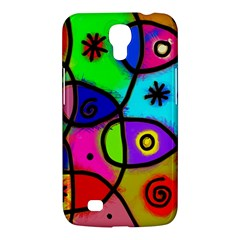 Digitally Painted Colourful Abstract Whimsical Shape Pattern Samsung Galaxy Mega 6 3  I9200 Hardshell Case by BangZart