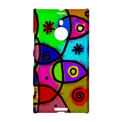 Digitally Painted Colourful Abstract Whimsical Shape Pattern Nokia Lumia 1520 by BangZart